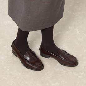 ハルタ HARUTA レディス牛革コインローファー(3E)(ブラウン)