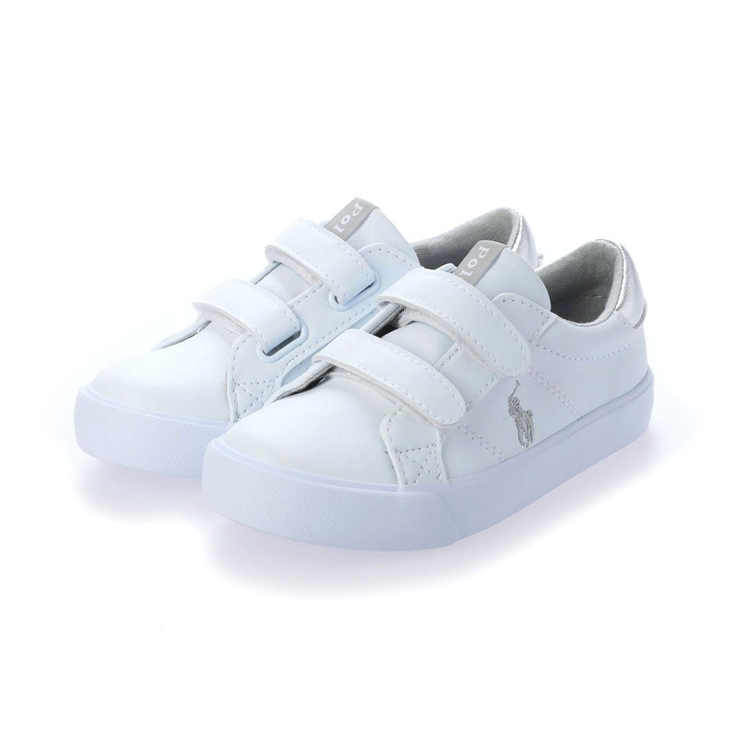 ロコンド 靴とファッションの通販サイトラルフローレン Ralph Lauren エバンストンEZ EVANSTON EZ (ホワイト/シルバー)