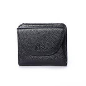 イビサ IBIZA 牛革 BOX小銭入付き折り財布 (黒)
