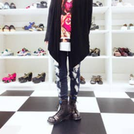 ヨースケ YOSUKE [30th anniversary]ユニオンジャックレースアップシューズ (ブラックコンビ)