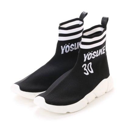 ヨースケ YOSUKE [30th anniversary]ソックススニーカー (ブラックコンビ)