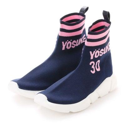ヨースケ YOSUKE [30th anniversary]ソックススニーカー (ネイビーコンビ)