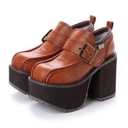 ヨースケ YOSUKE [原宿店×YOSUKE 限定コラボアイテム]厚底ショートブーツ (キャメルコンビ)