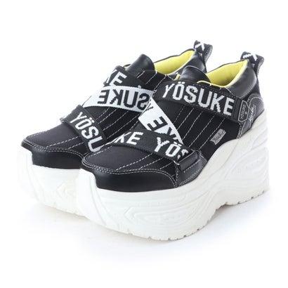 ヨースケ YOSUKE 厚底スニーカー (ブラックコンビ)