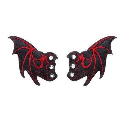 ヨースケ YOSUKE [シューケア用品]悪魔の羽根[限定shop取扱いアイテム] (ブラックレッド)