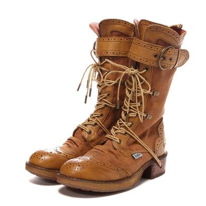 60f7c76220e27 ヨースケ YOSUKE レースアップブーツ(CMC) -靴&ファッション通販 ロコンド〜自宅で試着、気軽に返品