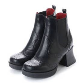 ヨースケ YOSUKE サイドゴアショートブーツ (ブラック)