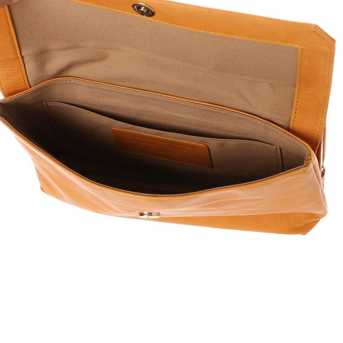 058c8f30222a カナナラ KUNUNURRA オイルポニーお財布ポシェット (キャメル) -靴 ...