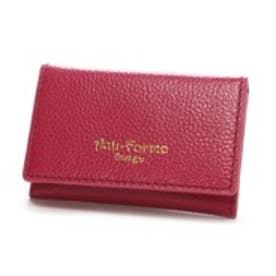 アンチフォルムデザイン Anti-Forme Design カラフルシュリンク カードケース(ピンク)