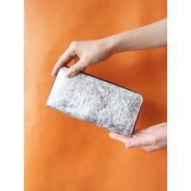 アンチフォルムデザイン Anti-Forme Design 【Afd】FOIL ラウンド型財布 (シルバー)