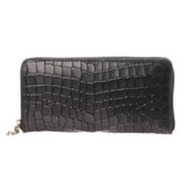 アンチフォルムデザイン Anti-Forme Design 【Afd】CROCODILE ラウンド型財布 (ブラック)