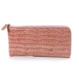 アンチフォルムデザイン Anti-Forme Design 【Afd】CROCODILE L字型財布 (ピンク)