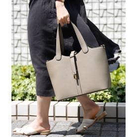 ヴィータフェリーチェ VitaFelice インナーバッグ付き3wayトートバッグ (グレーベージュ)