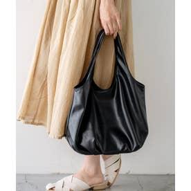ヴィータフェリーチェ VitaFelice タッセル付きバルーントートバッグ (ブラック)