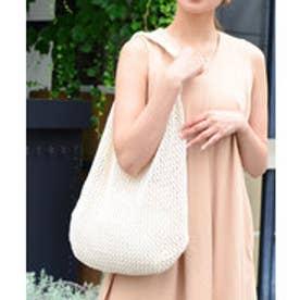 ヴィータフェリーチェ VitaFelice 巾着バッグinネットバッグ (ホワイト)