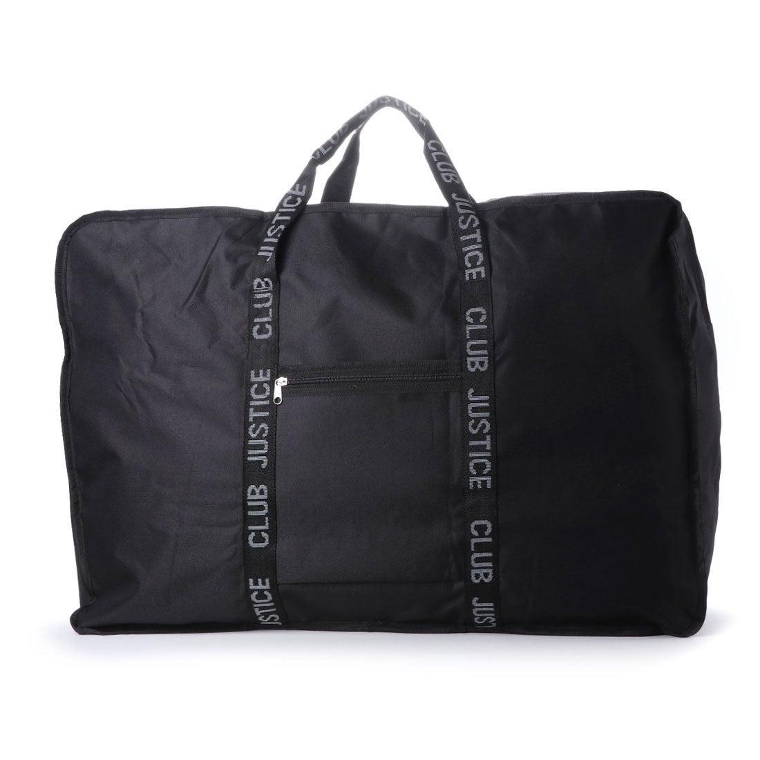 ロコンド 靴とファッションの通販サイトヴィータフェリーチェ VitaFelice 収納量86L/バッカブル ボストンバッグ メンズ レディースビッグトートバッグ 折りたたみ 旅行バッグ アウトドア (BLACK)