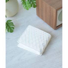 ヴィータフェリーチェ VitaFelice 白蛇革二つ折りショートウォレット/二つ折り財布 (ホワイト)