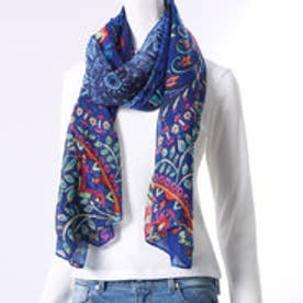 デシグアル Desigual FOULARD_VAKIRIA RECTANGLE (ESTATE BLUE)