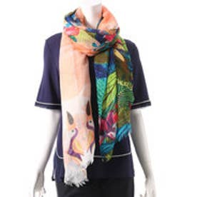 デシグアル Desigual FOULARD_RECTANGLE TROPICL (AMBAR)