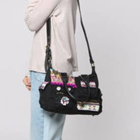 デシグアル Desigual BOLS_LONDON MINI MILITARY LUXE (NEGRO)
