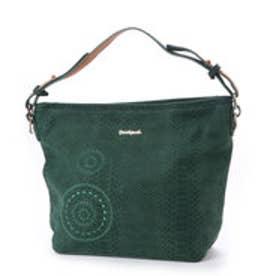 デシグアル Desigual WOMAN WOVEN SHOULDER BAG (Green)