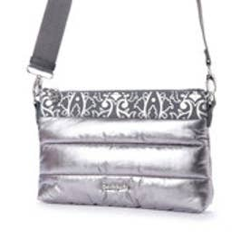 デシグアル Desigual ACCESSORIES FABRIC ACROSS BODY BAG (Grey/Black)