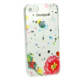 デシグアル Desigual COVER_IPHONE5 RIGIDA SPLATTER (BLANCO)