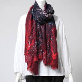 デシグアル Desigual  スカーフ(パープル レッド)