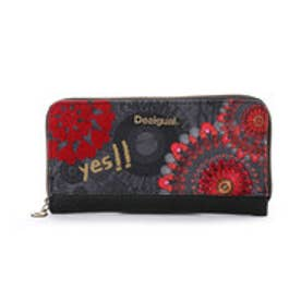 デシグアル Desigual MONE_ZIP AROUND NEW RED (CARMIN)