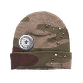 デシグアル Desigual HAT_MILITARY PARCHES (MILITAR DELAVADO)