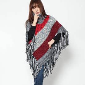デシグアル Desigual PONCHO_PATCH (BLACK)