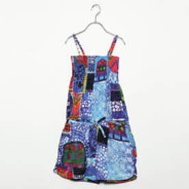 デシグアル Desigual GIRL KNITTED OVERALL TROUSER (Blue/Navy)