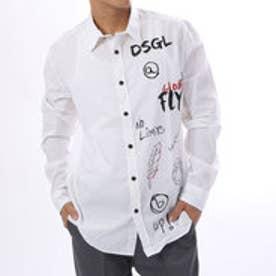 デシグアル Desigual  シャツ トップス(ホワイト)