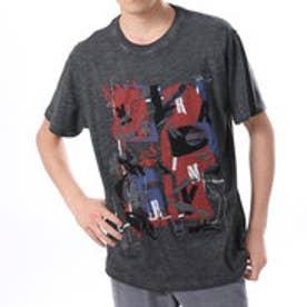 デシグアル Desigual  プリント Tシャツ トップス(グレー)