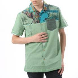 デシグアル Desigual  半袖 シャツ トップス(グリーン)