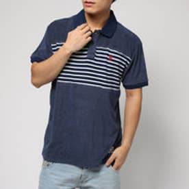 デシグアル Desigual POLO_TOWER (AZUL TINTA)
