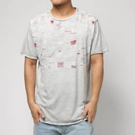 デシグアル Desigual TS_LETTERING SOFT REP (NEUTRAL GRAY)