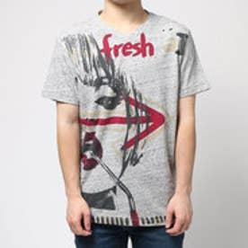 デシグアル Desigual TS_NEW ARROW (GRIS VIGORE CLARO)