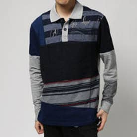 デシグアル Desigual POLO_PIECES (GRIS VIGORE OSCURO)