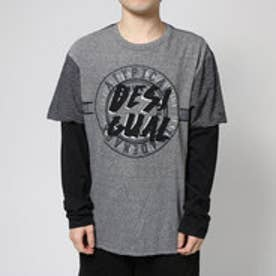 デシグアル Desigual TS_MR GREY (JET BLACK)