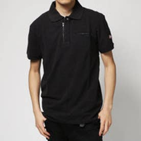 デシグアル Desigual POLO_ZIP MANOLO (JET BLACK)