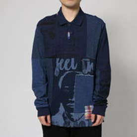 デシグアル Desigual POLO_FEELTHEMAUMENT (AZUL TINTA)