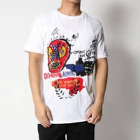 デシグアル Desigual ルチャリブレ半袖Tシャツ (WHITE)