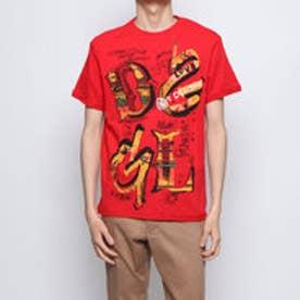 デシグアル Desigual ロゴ入り半袖Tシャツ (RED)