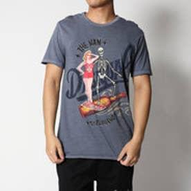 デシグアル Desigual 半袖Tシャツ (BLUE)