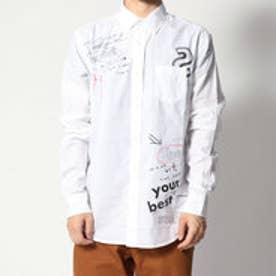 デシグアル Desigual シンプルな白シャツ (WHITE)