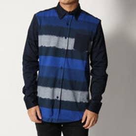 デシグアル Desigual ストライプシャツ (BLUE)