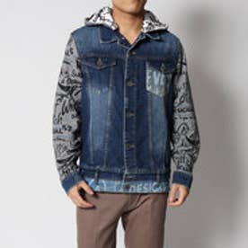 デシグアル Desigual CHAQ_DENIM CAZADORA (DENIM MEDIUM WASH)