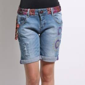 デシグアル Desigual DENIM_BERMUDA CARRY (DENIM MEDIUM WASH)