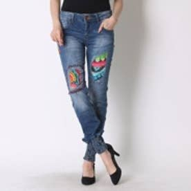 デシグアル Desigual DENIM_AFRICA ARROW REP (NAVY)